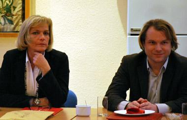 Eva-Maria Voigt-Küppers und Martin Mertens