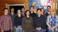 Die komplette Mitgliederversammlung der Jusos Südkreis