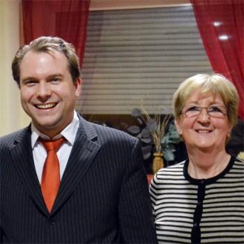Martin Mertens und Ellen Klingbeil
