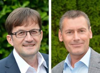 Jürgen Thomas (links) und Ralf Steinbach (rechts)